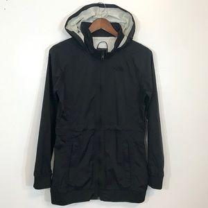 The North Face woman lightweight rain black jacket